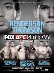 UFC Henderson vs Thomson