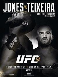 UFC 172 Poster